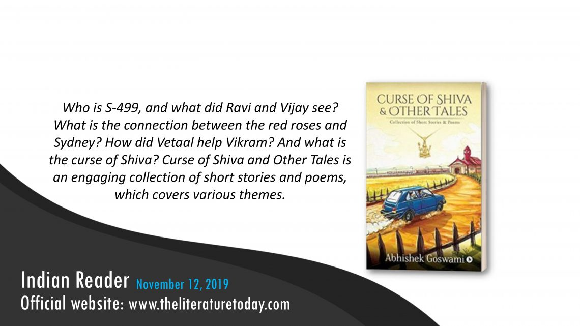 Book Review  |  Curse of Shiva & Other Tales |  The Literature Today
