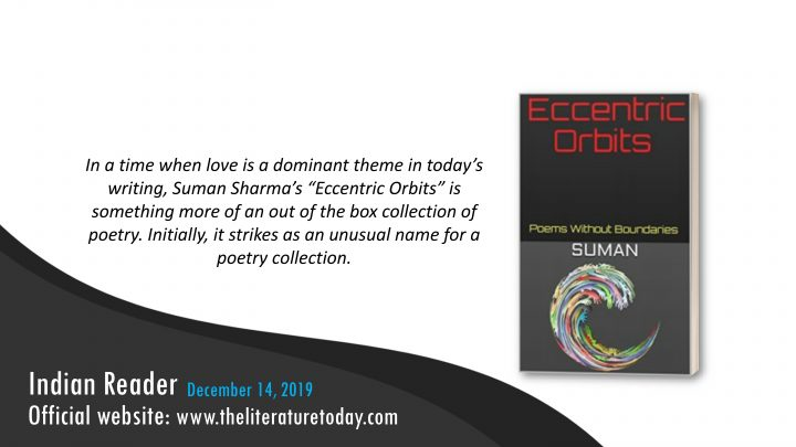 Book Review  |  Eccentric Orbits: Poems Without Boundaries | The Literature Today