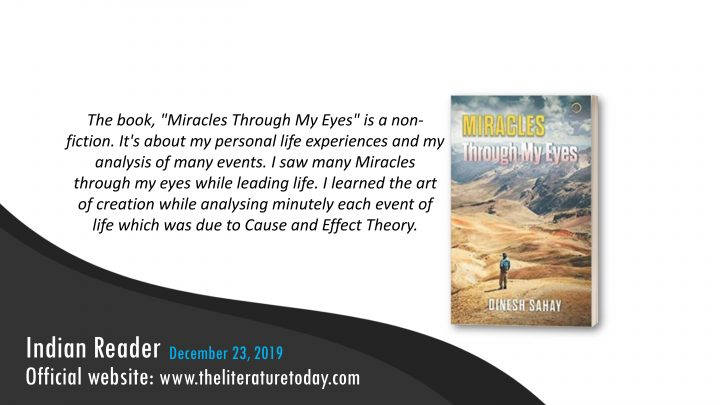 Book Review | Miracles Through My Eyes | The literature today
