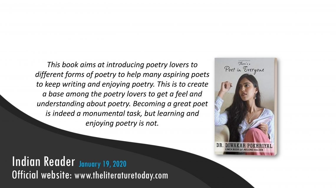 Book Review   There's a Poet in Everyone   The literature today