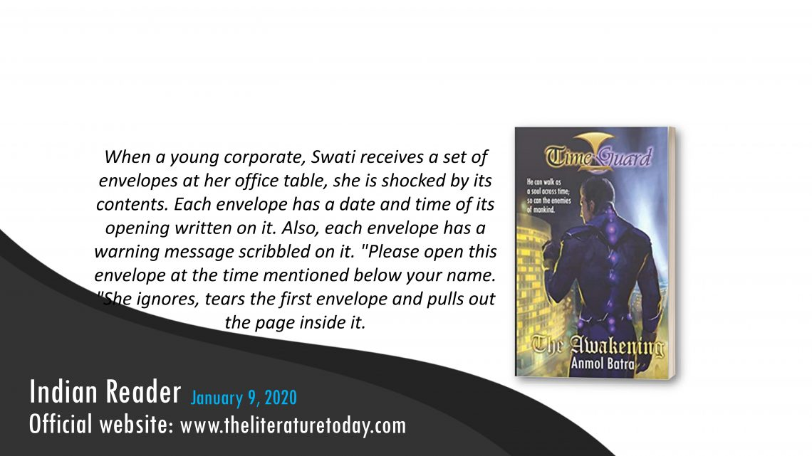 """Book Review   """"Time Guard: The Awakening""""   Theliteraturetoday"""