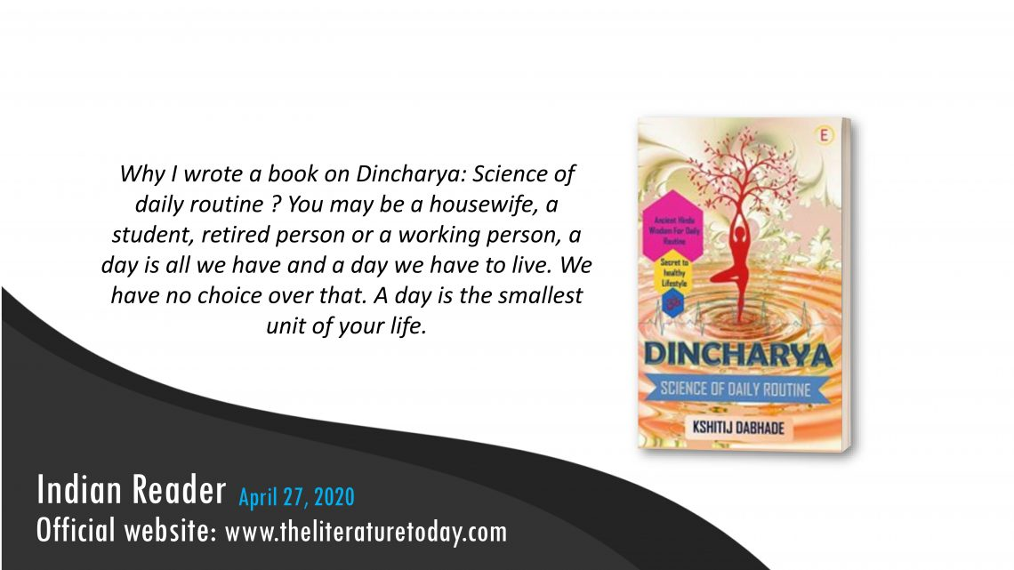 Book Review – Dincharya Science Of Daily Routine – Theliterature Today