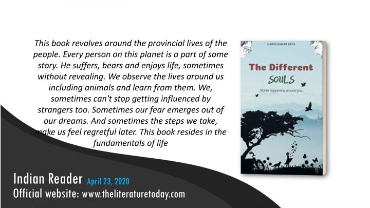 Book Review – The Different Souls – Theliteraturetoday