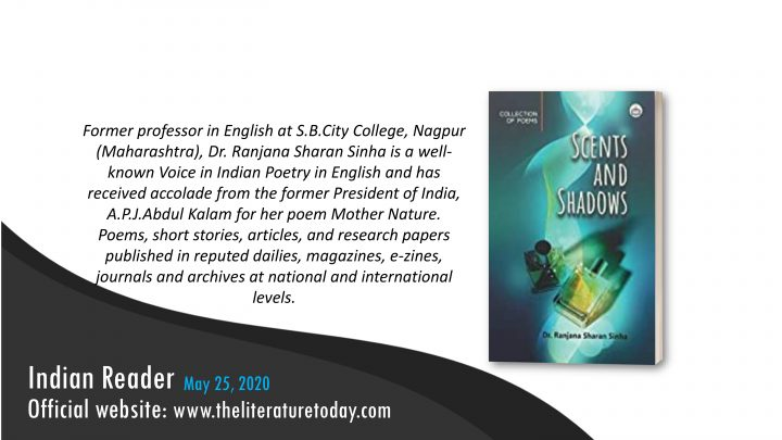 Book Review Scents and Shadows by Dr. Ranjana Sharan Sinha at The Literature Today  |
