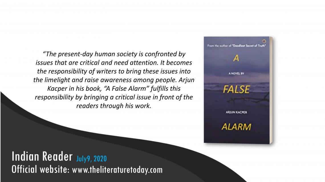 A False Alarm | Book Review | The Literature Today