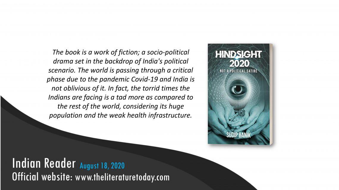 Hindsight 2020 | Book Review | Author Sudip Banik | Evincepub Publishing