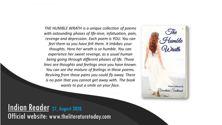 Book Review | The Humble Wrath by Vandana Sudheesh| The Literature Today