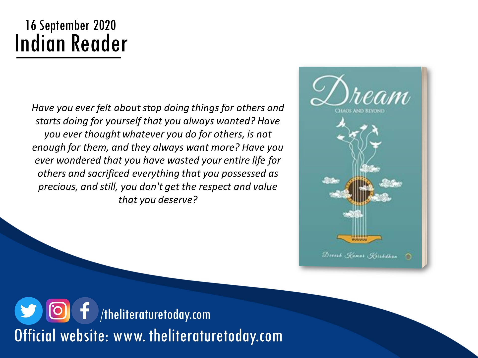 DREAM: Chaos and Beyond | Book Review | Evincepub Publishing