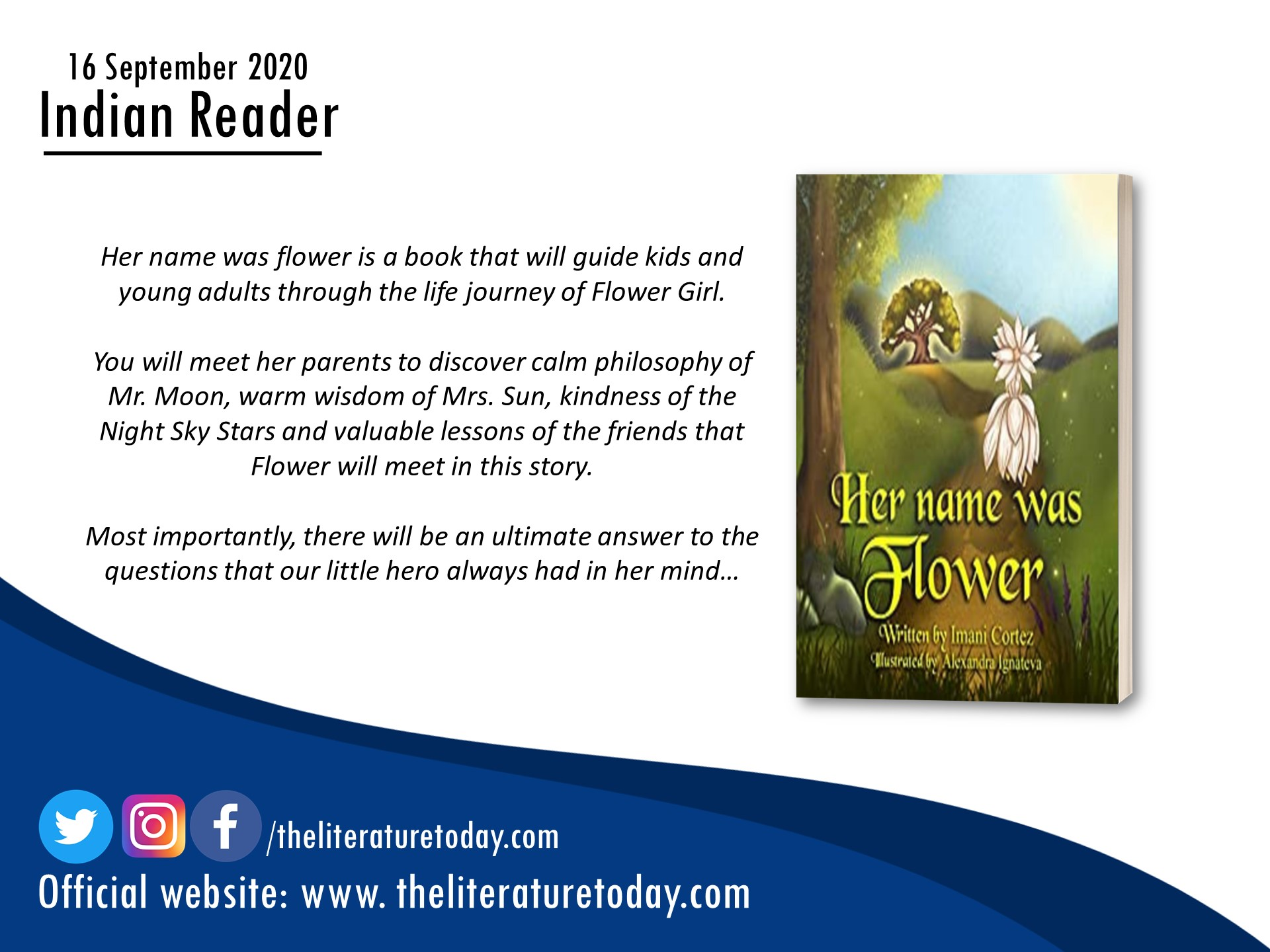 Book Review | Her Name Was Flower | Imani Cortez | The Titerature Today