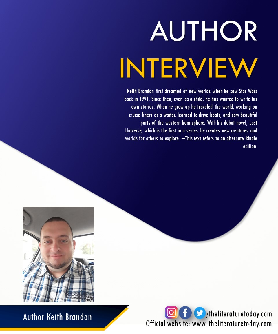 Interview with Keith Brandon | The Literature Today