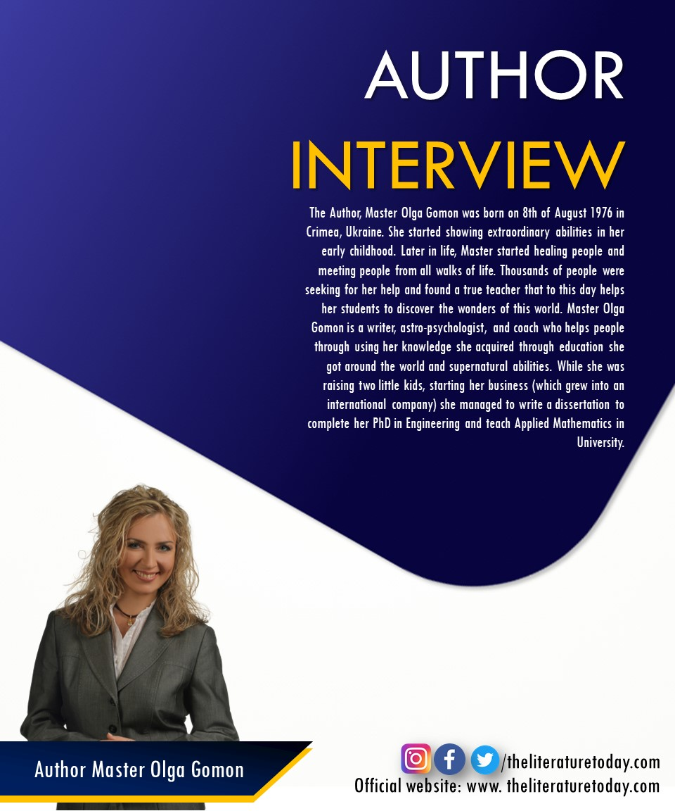 An Interview with Master Olga Gormon  at The Literature Today