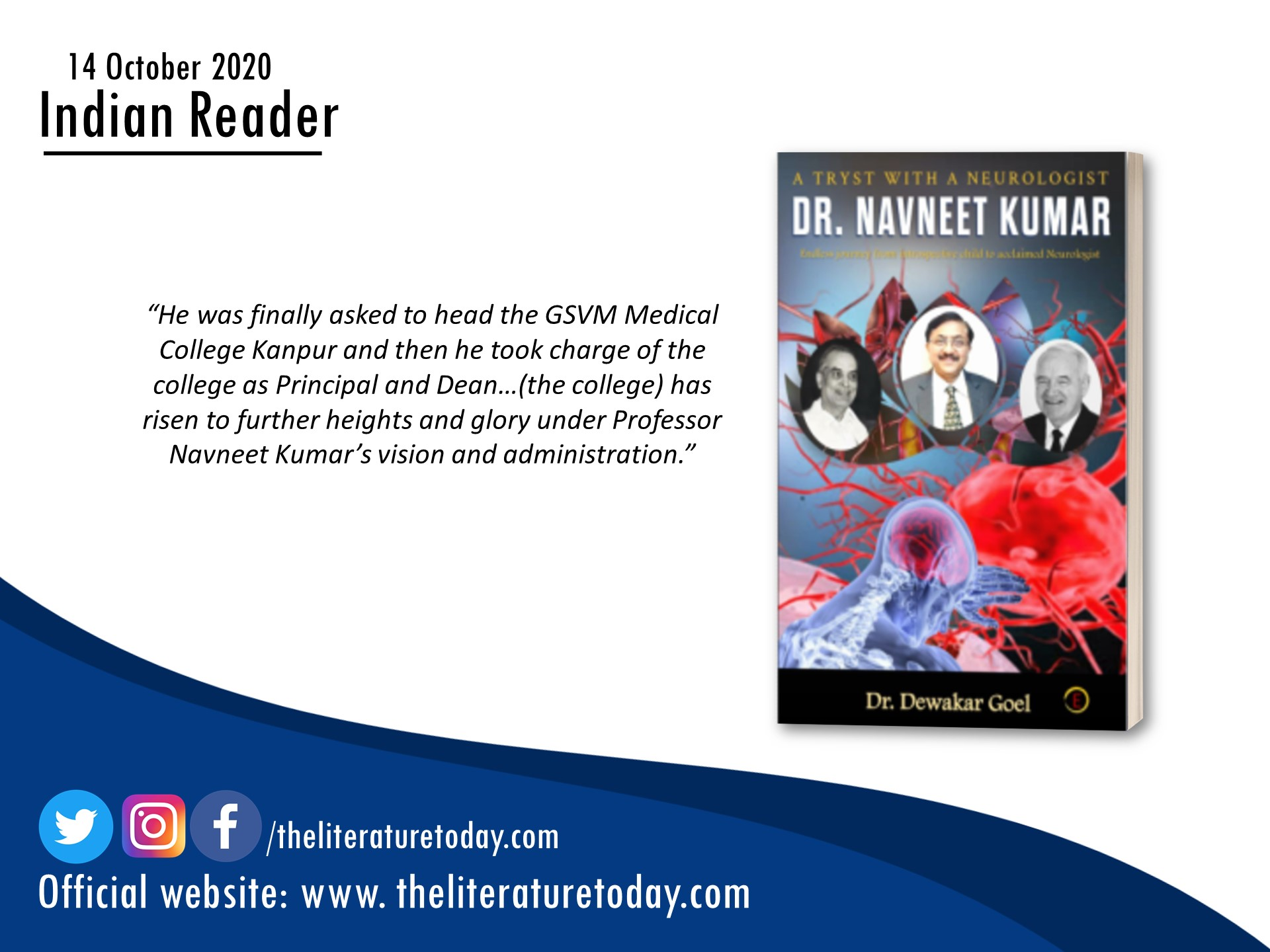 Dr. Dewakar Goel | Book Review | The Literature Today