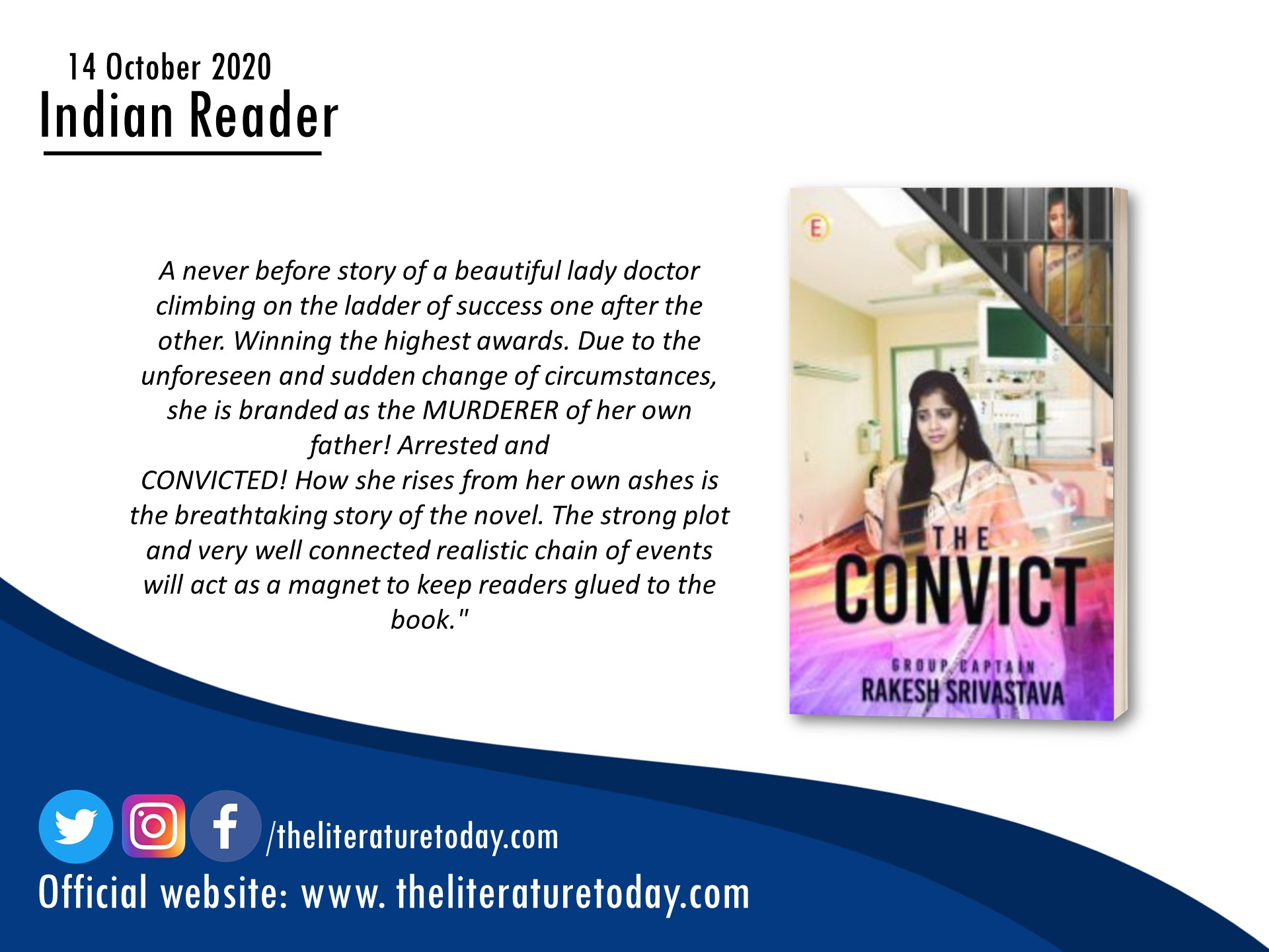 Book Review | The Convict | The Literature Today
