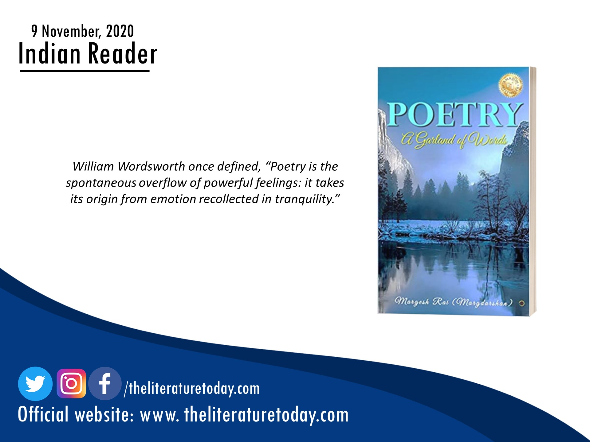 Book Review | Poetry – A Garland of Words | The Literature Today