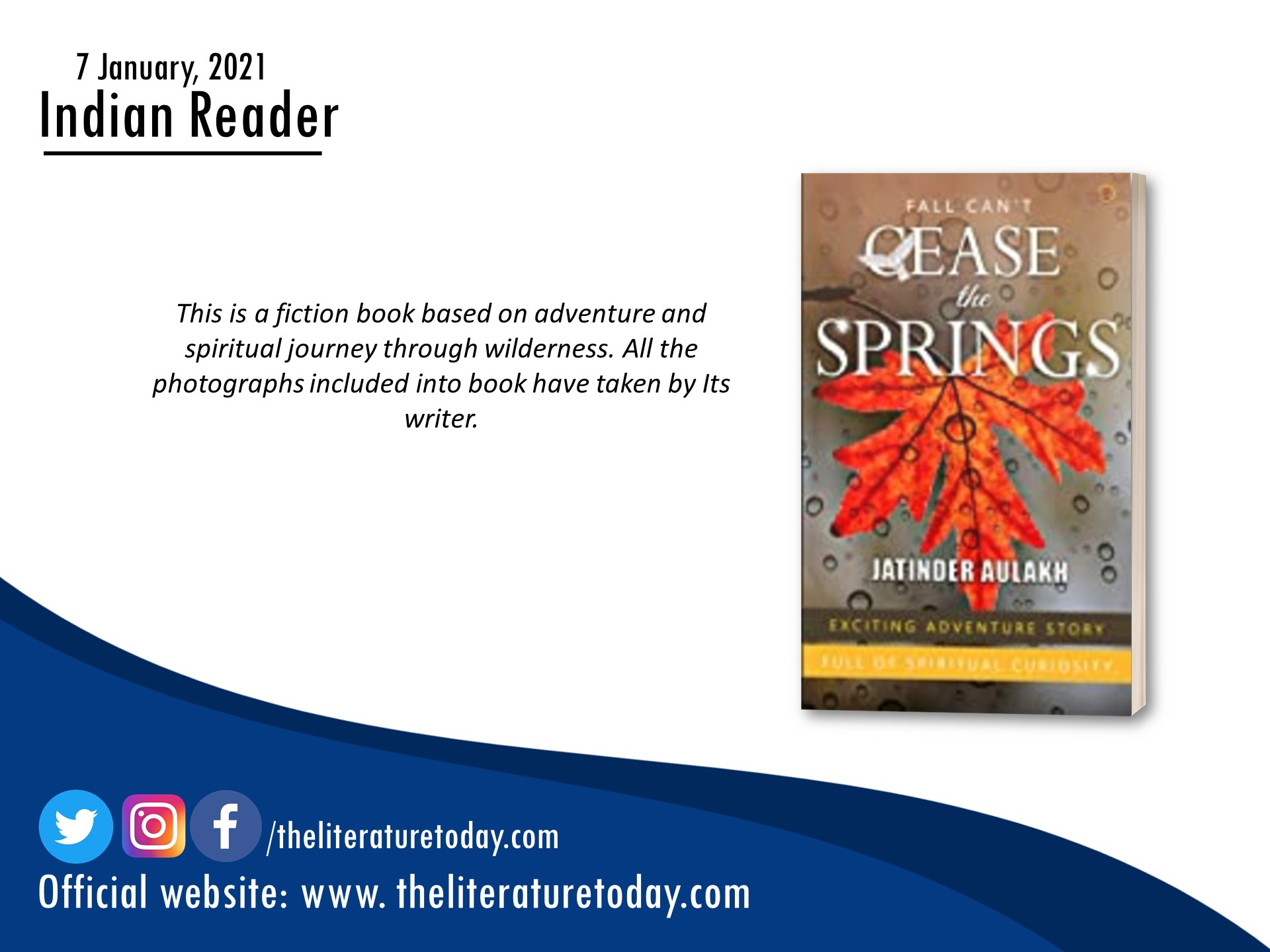 Book Review | Fall Can't Cease The Springs | The Literature Today