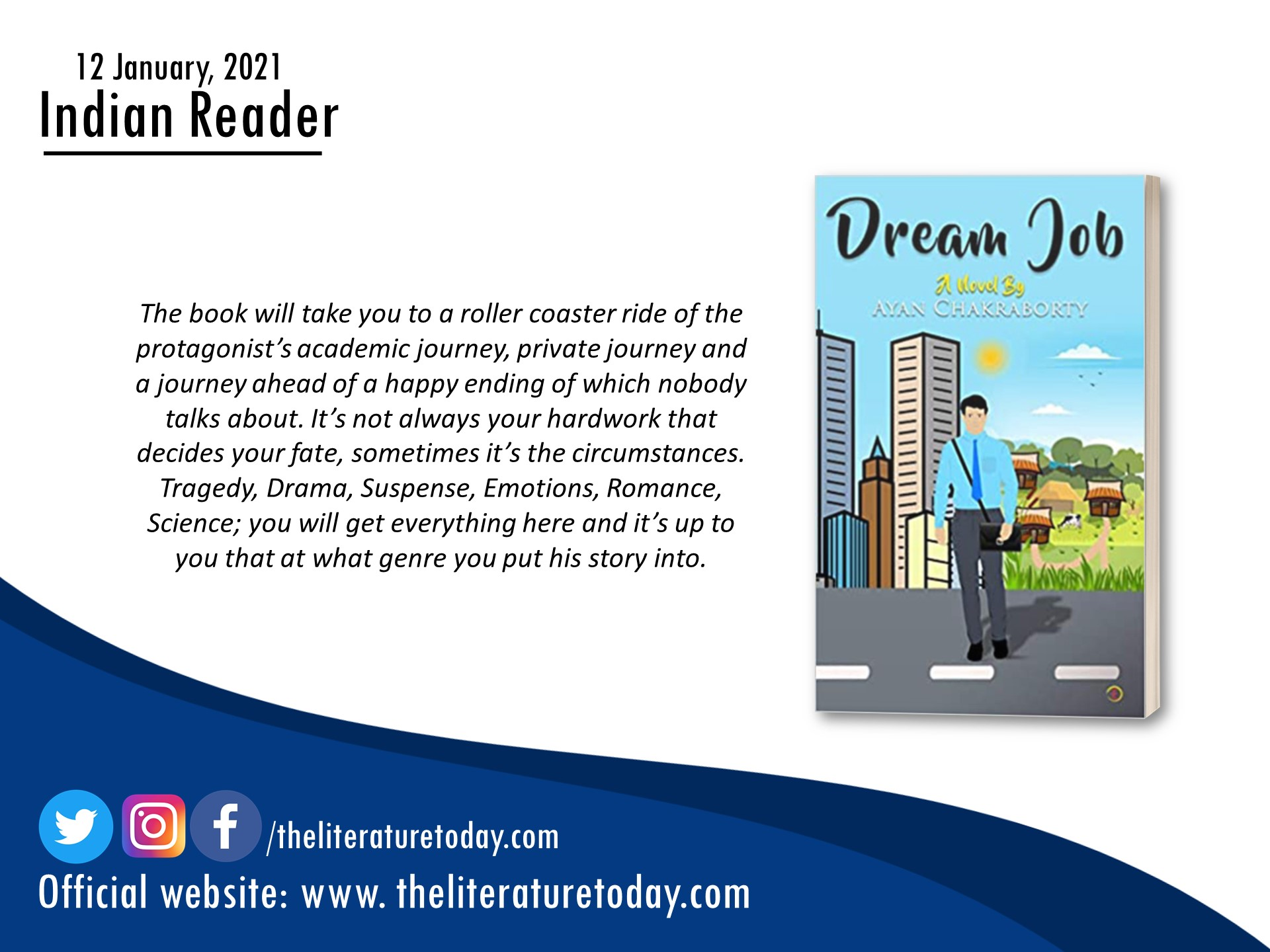 Book review |Dream Job | The Literature Today