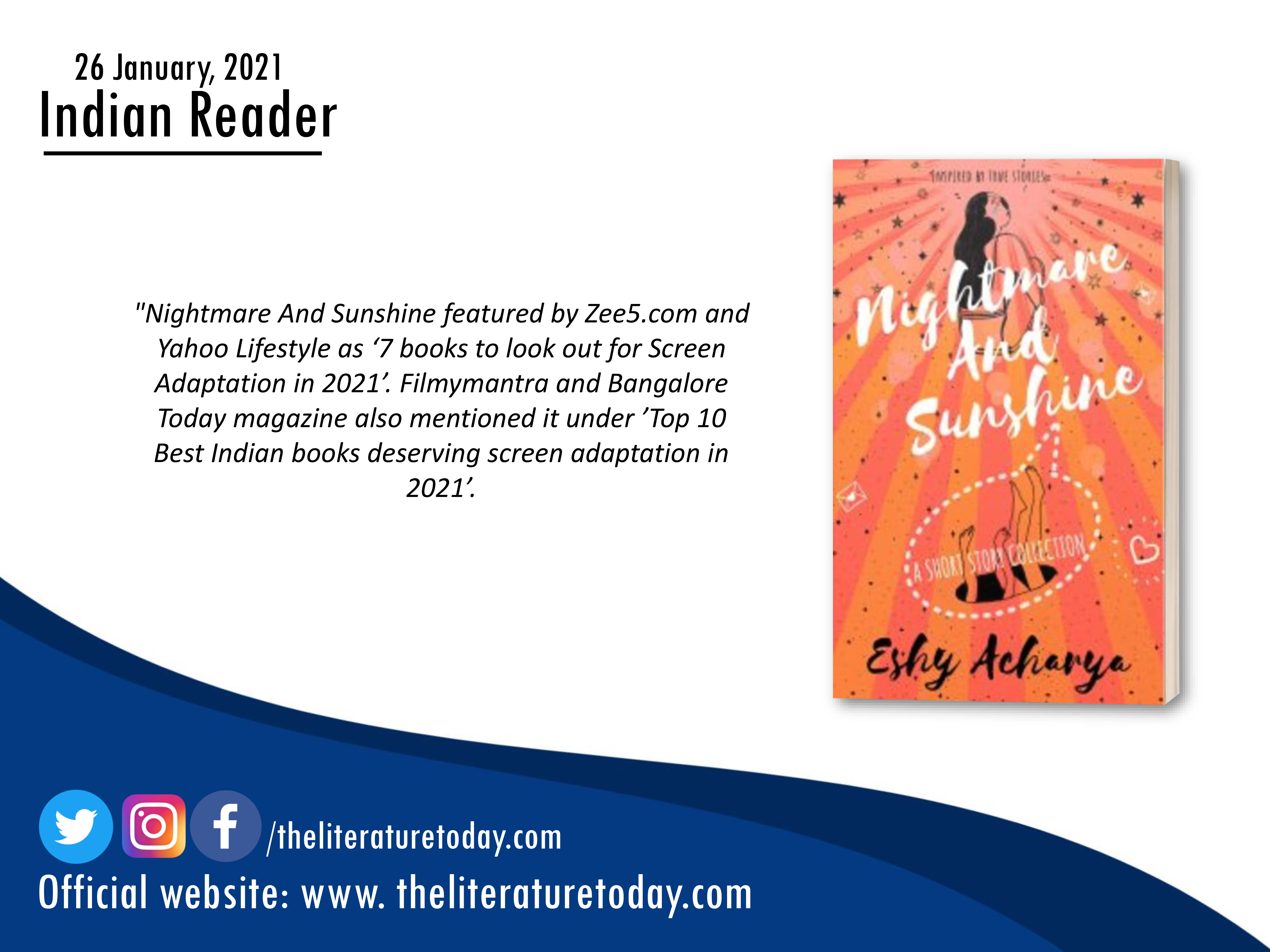 Book Review | Nightmare And Sunshine| The Literature Today