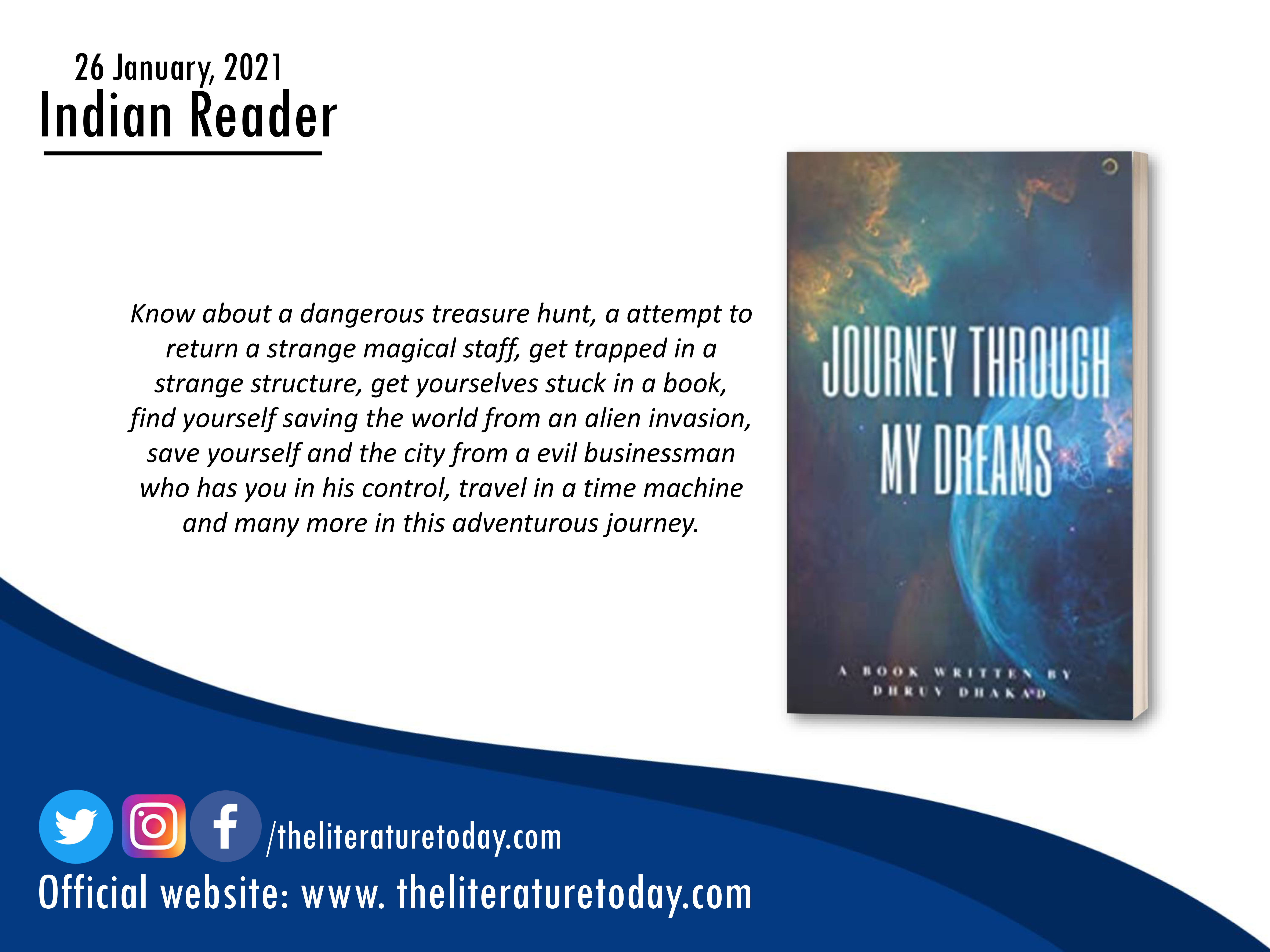 Book Review | Journey Through My Dreams  | The Literature Today