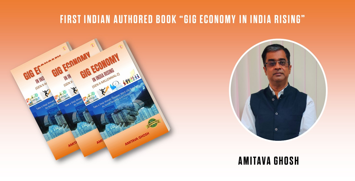 """First Indian Authored Book """"GIG ECONOMY IN INDIA RISING"""" 