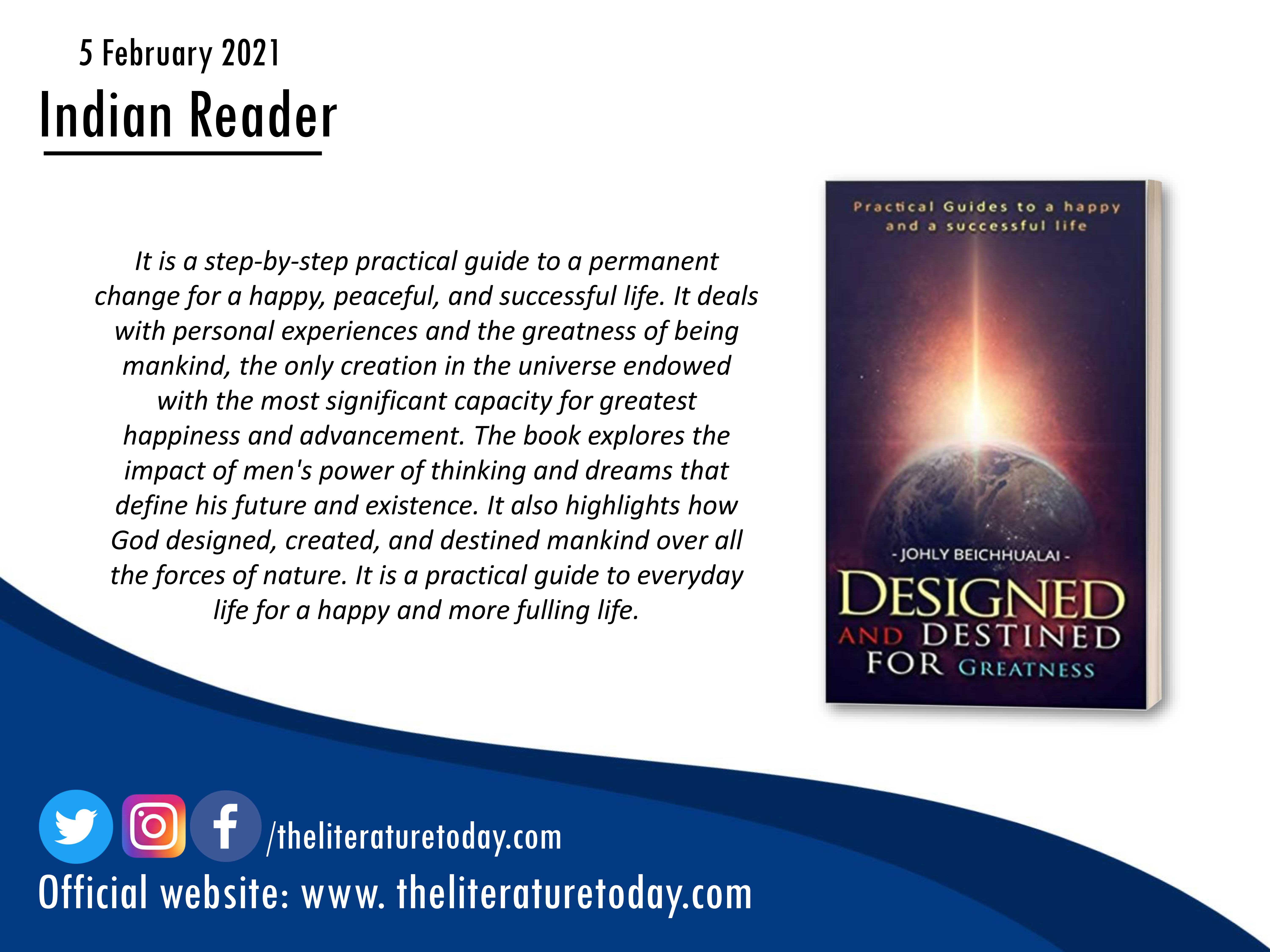 Designed and Destined for Greatness | Johly Beichhualai | Evincepub