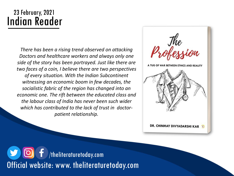Book Review | Dr. Chinmay Divyadarshi Kar |The Literature Today