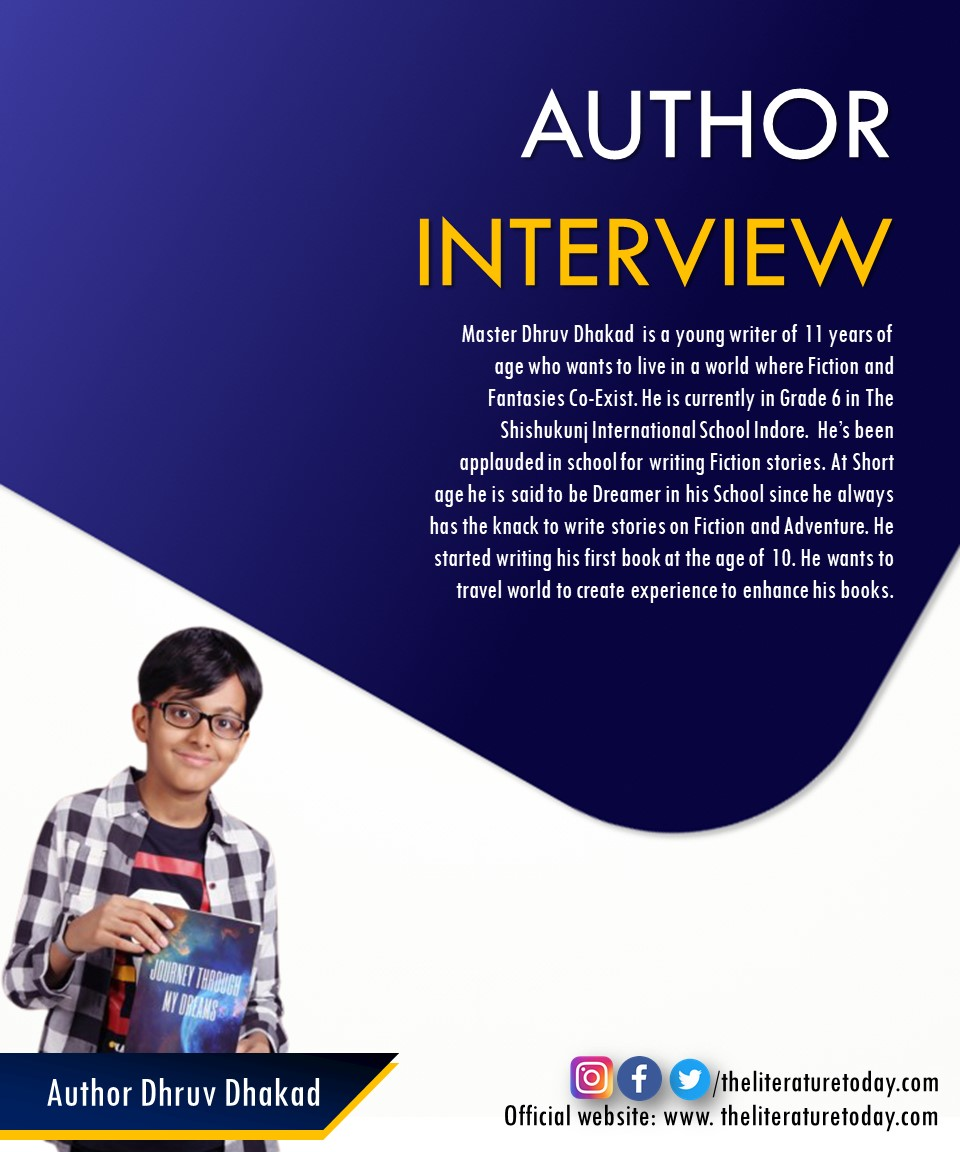 Author Interview | Dhruv Dhakad|The Literature Today