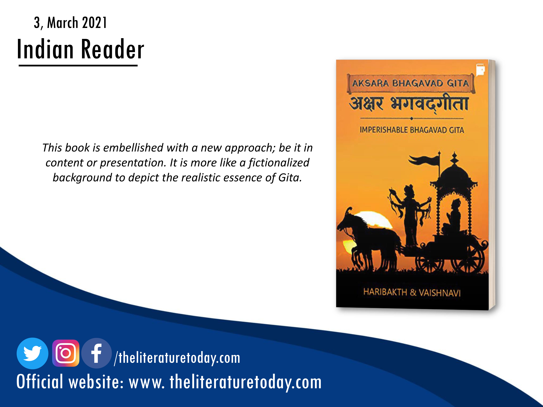 Book Review | Aksara Bhagvad Gita | The Literature Today