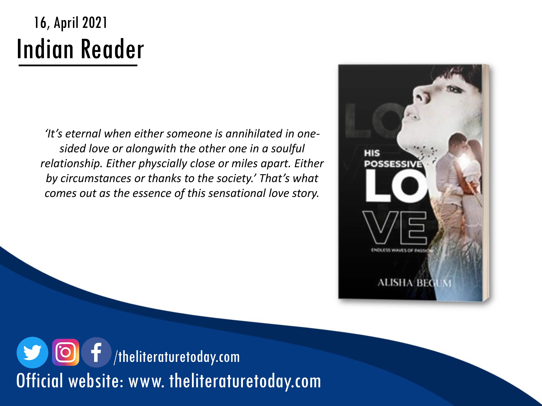 His Possessive Love Review Of An Undying Love Saga | Alisha Begum
