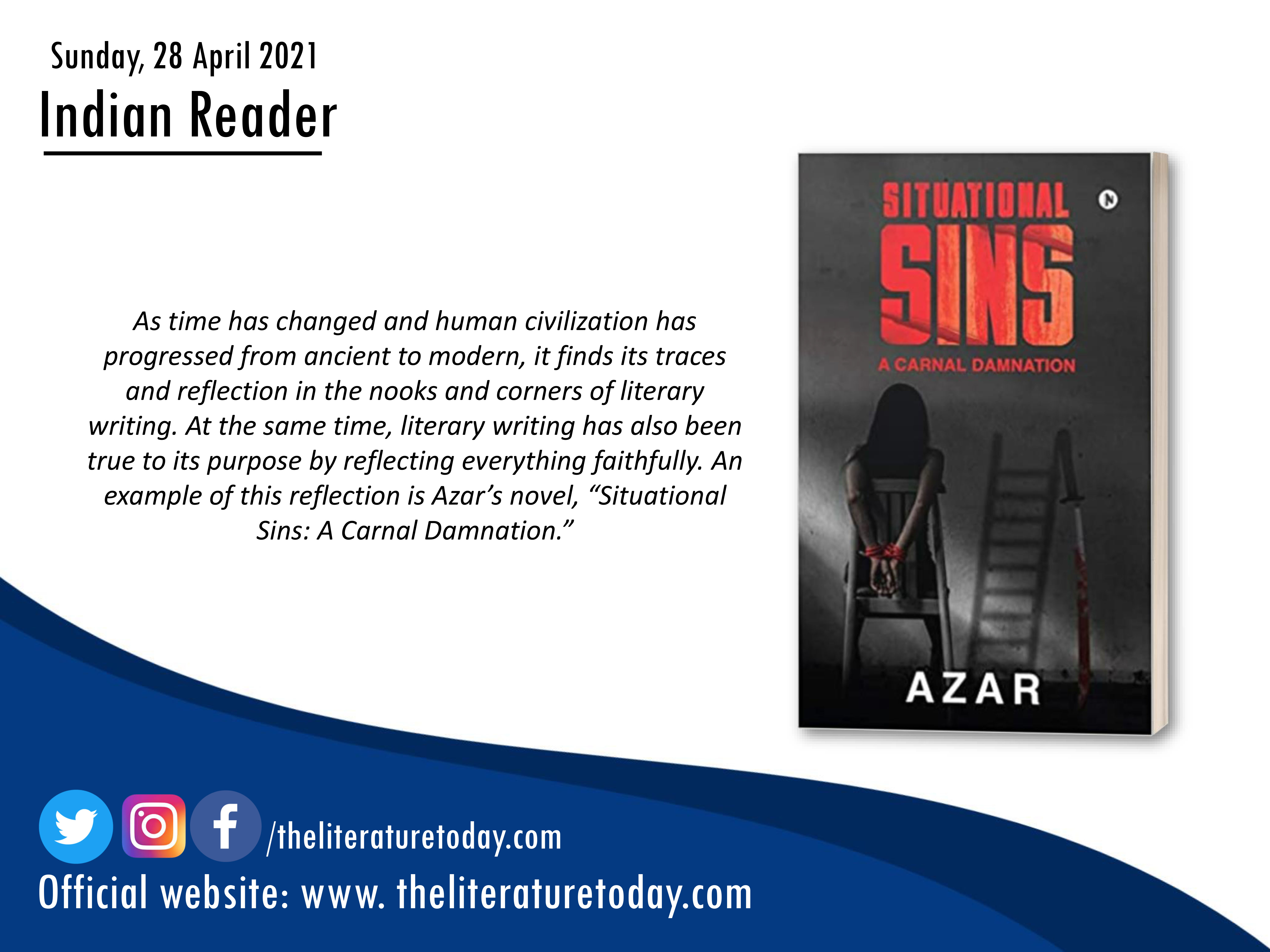 Book Review |Situational Sins  |Azar – The Literature Today