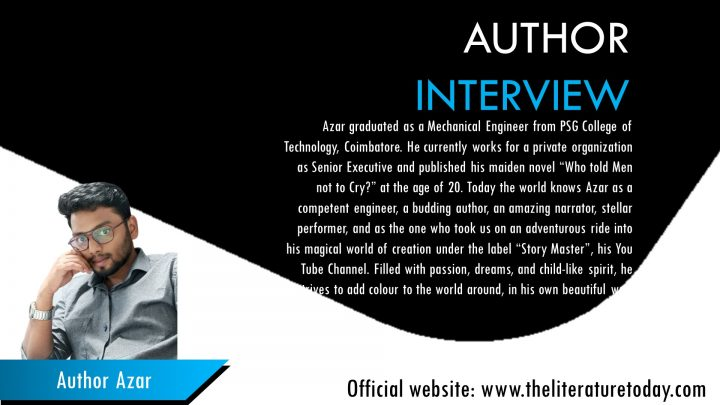 """An Interview With Azar Author Of The Book """"Situational Sins"""""""